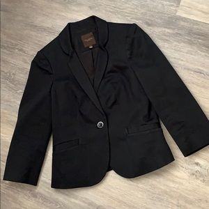 The limited black blazer women's small
